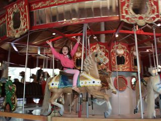 Falmouth estate photo - Take a ride on the Antique Carousel at the Heritage Museums.