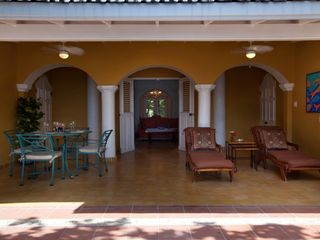 Curacao estate photo - Loggia