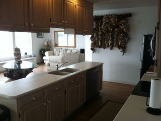 Harpswell house photo - Kitchen/Living Room