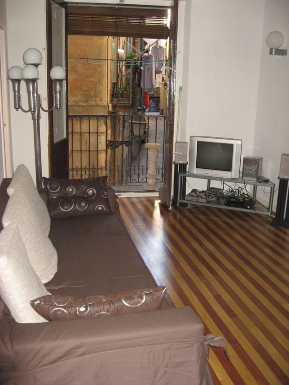 La Ribera El Borne apartment rental - Lounge with Balcony