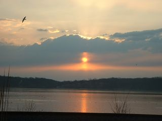 Keokuk cabin photo - Winter sunrise