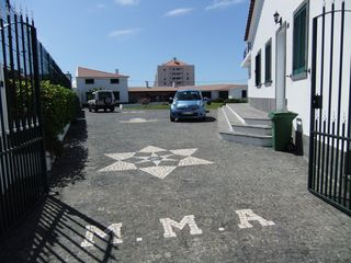 Sao Miguel Island villa photo - View property with a garden and parking area