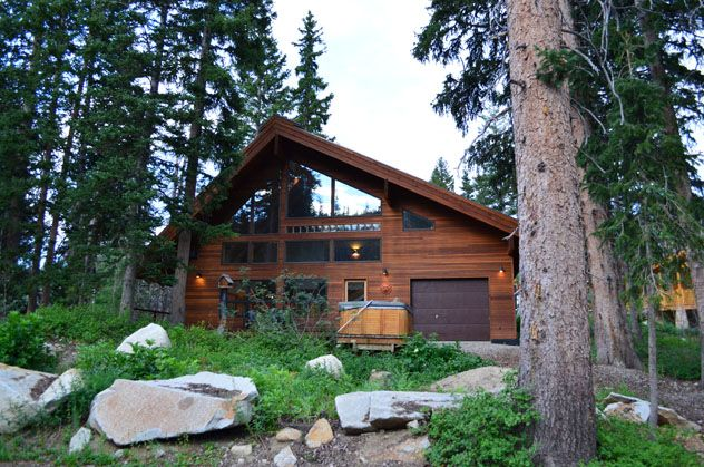 Contemporary home at base of millicent lift vrbo for Brighton utah cabin rentals