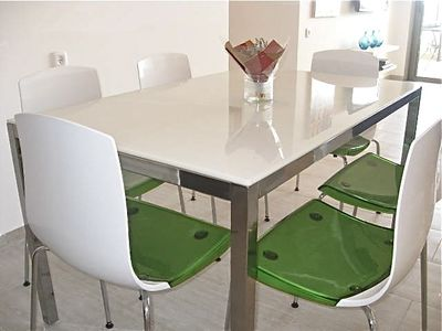 Netanya apartment rental - Dining table