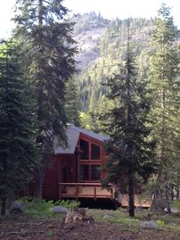 Alpine Meadows house rental - Quiet, sun-filled escape within minutes of ski-hike-boat -- best of both worlds