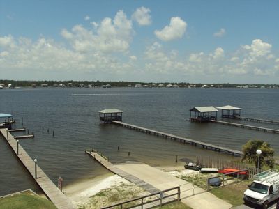 Enjoy sitting out on your balcony and watching the boats on the lagoon!!!