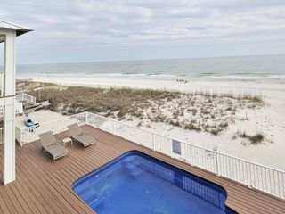 Gulf Shores house photo - view from one of the two private master balconies on the 2nd floor.