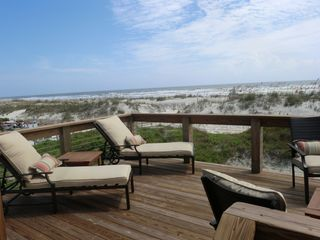 St. Augustine Beach house photo - Stunning OceanFront Panoramic Deck!