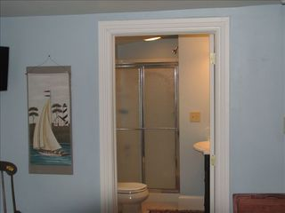 Cape May house photo - 1st floor master bedroom w/private bath (different view)