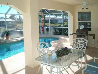 Your waterfront 3 Bedroom 2-1/2 bathroom Pool Home awaits you!