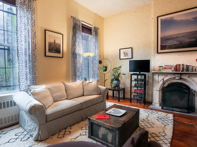 Large 2 Bedroom Apt on its Own Floor (2nd) in East Village Townhouse