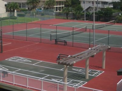 4 Lighted Tennis Courts and Shuffleboard