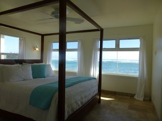 Anahola house photo - Master Bedroom with view of Ocean.