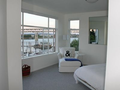 Another view of the bedroom taken by one of our guests (Terri R.)