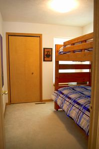 Top level--bunk bed room