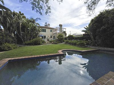 Privacy and romance on Santa Barbara's prestigious Upper East-side.