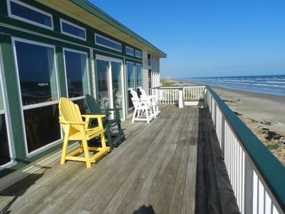 Galveston house rental - Look at those views!