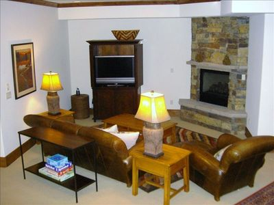 Beaver Creek house rental - Lower Level entertainment area
