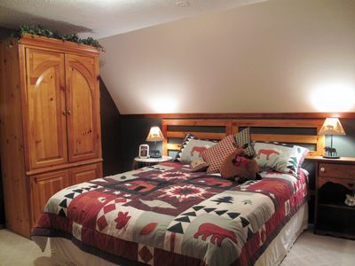 Klamath Falls cabin rental - Bedroom