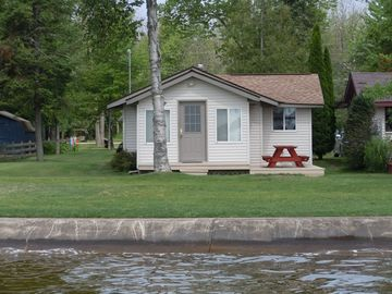 Houghton Lake cottage rental - Cottage from lake