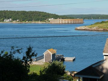 Georgetown cottage rental - Where the Kennebec River meets the ocean