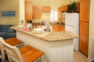 Kissimmee condo photo - Fully Equipped Kitchen: Granite countertops, new appliances, cookware, tableware
