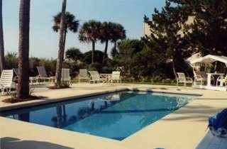 Palmetto Dunes house photo - Private pool and lots of deck space