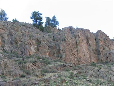 Unobstructed canyon views... rock climb without ever leaving the property!