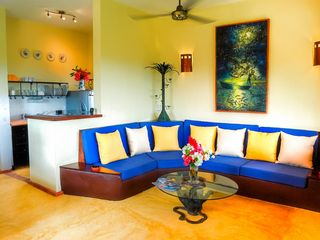 Las Terrenas villa photo - Living room.