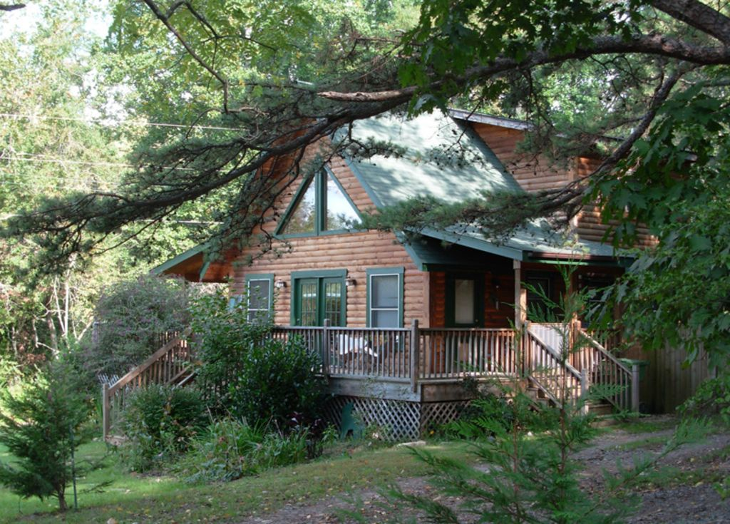 asheville cabin rental pet friendly log cabin with hot