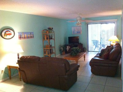 Living Room ...flat screen TV Lots of space