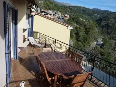 Large house (sleeps 6-40) in middle of a charming Italian village on the border