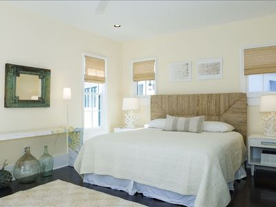 Master Suite with Terrace Overlooking Caliza Pool and Spacious Bathroom