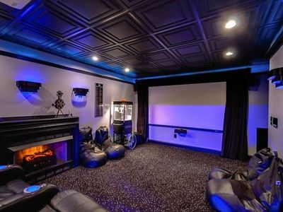 Great movie theater for those rainy days at the lake