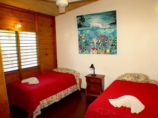 Negril cottage photo - twin Cottage bedroom