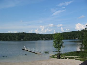 Photo of our community 250 acre Lake Westcolong