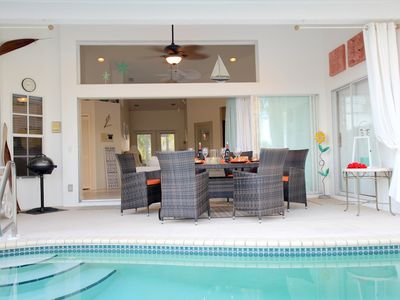 NEW! Dream lakeside villa, south facing, private, heated pool, luxurious exclusive +
