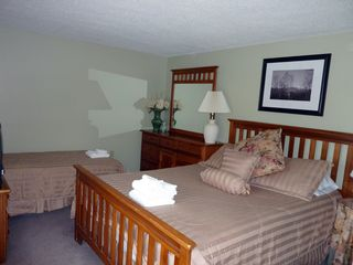North Conway townhome photo - Guest bedroom with breathtaking views of the mountain