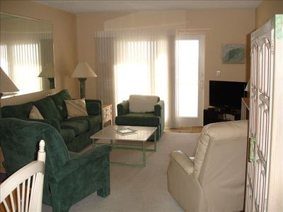 New Smyrna Beach condo rental - Living Room