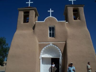 Taos studio rental - St. Francis Church