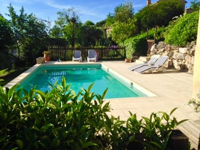 Large villa with pool in Le Rouret