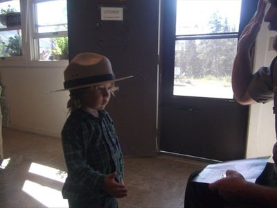 Glacier Park offers a Junior Ranger program.