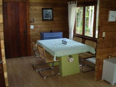 Qualicum Beach cabin rental - Dining room