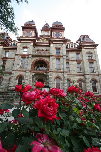 Beautiful Caldwell County Courthouse is just 5 minutes away!