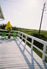 Galveston house photo - Relax in the nice weather on the patio