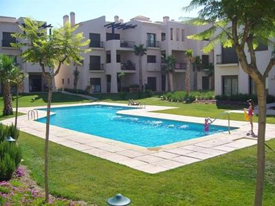 Apartment for 4 people, with swimming pool, in Los Alcazares
