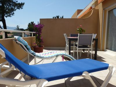 ARGELES-BEACH-of-PINS T2 BEAUTIFUL TERRACE, 2 / 4p, AIR CONDITIONING, WIFI, POOL, PARKING closed
