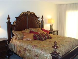 Redington Shores condo photo - 'Tropical Royalty' Master, King Bed