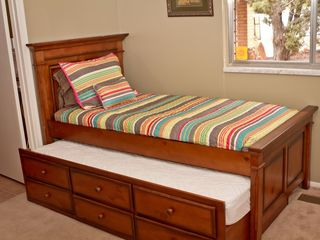 Kanab house photo - Upper bedroom sleeps three when trundle bed is used