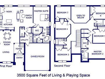 King Louie's Floor Plan